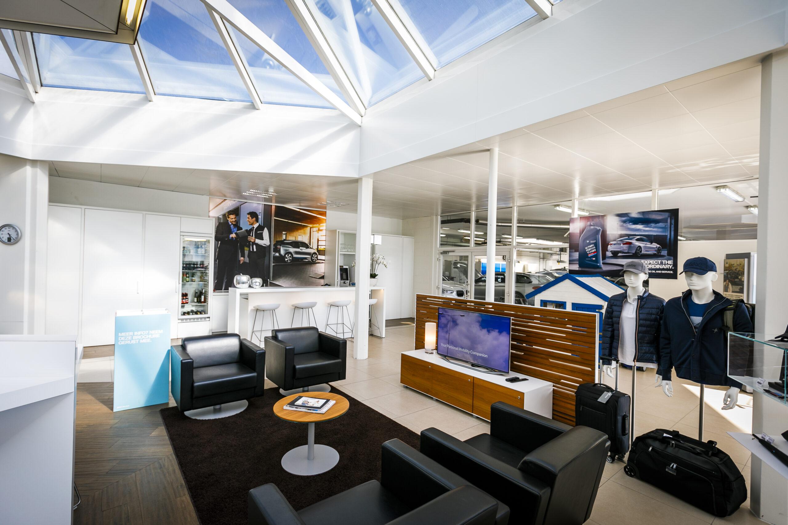 Afbeelding project BMW showroom