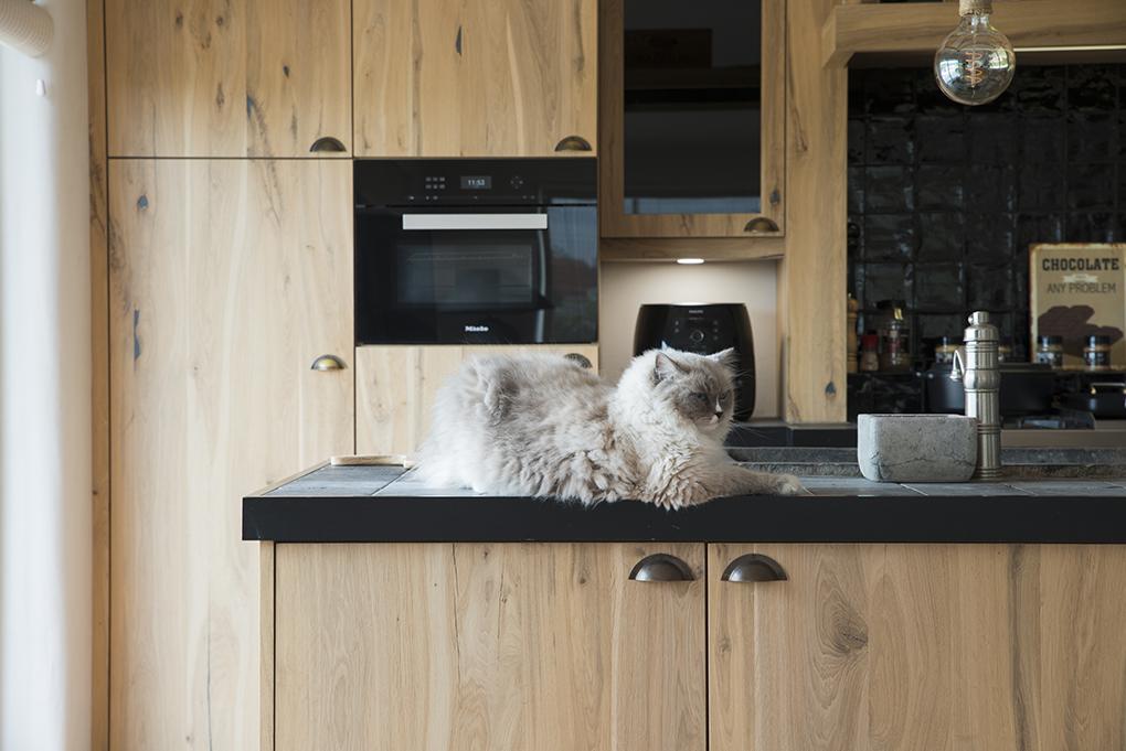 Afbeelding project Fineer keuken