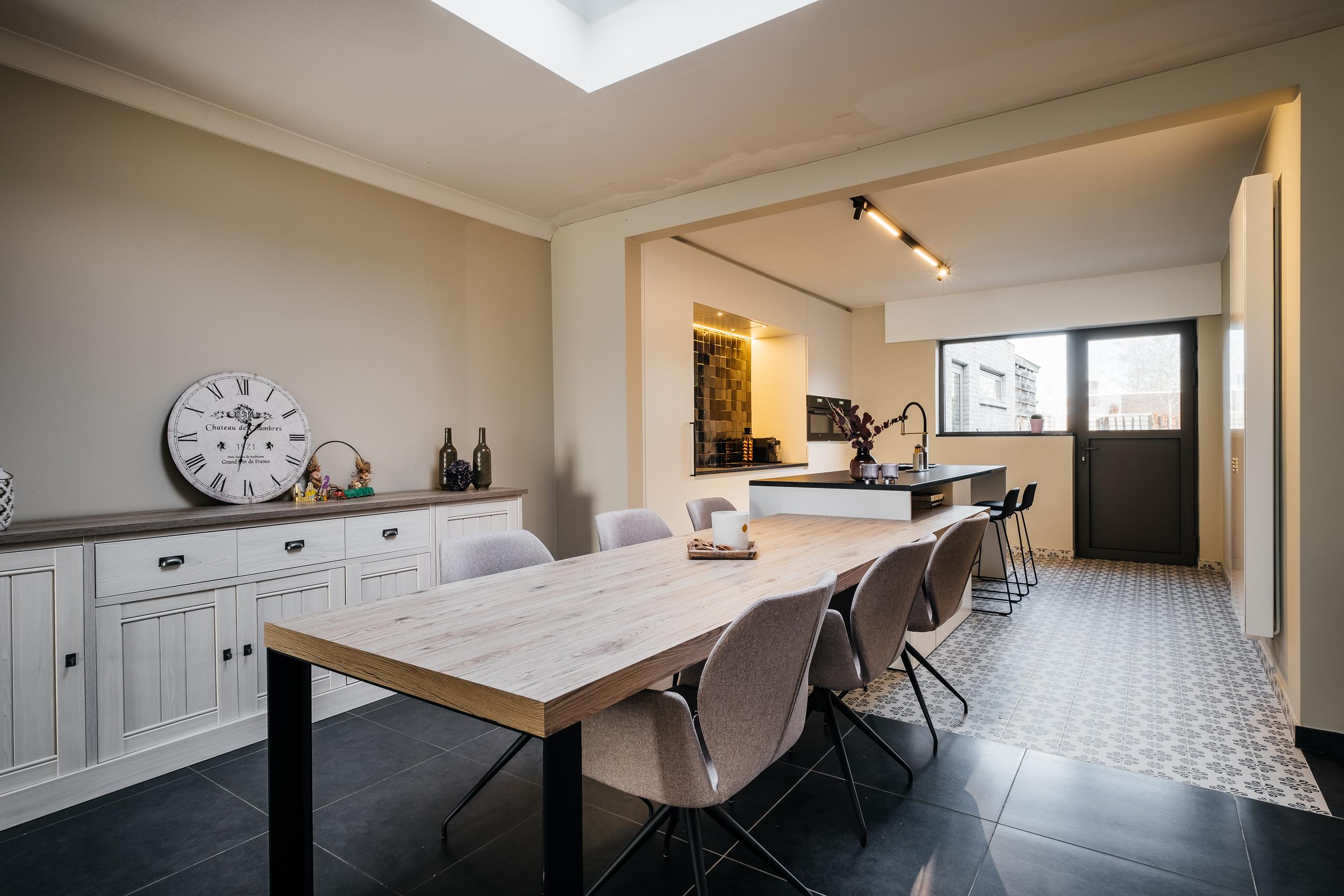Afbeelding project Moderne leefkeuken